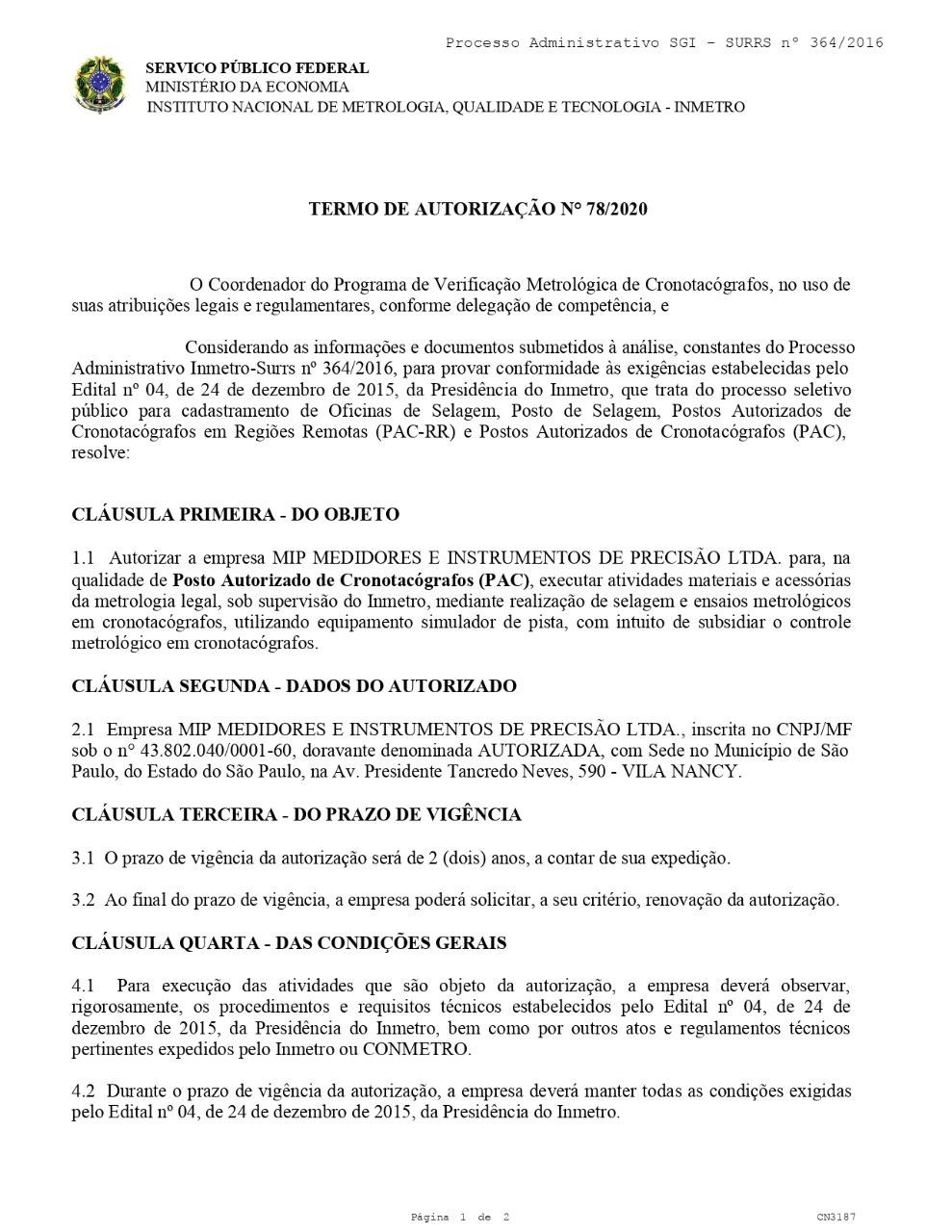 PAC Mip Medidores