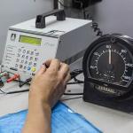 Ensaio metrológico de cronotacógrafos