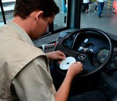Instalação de tacógrafos