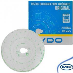DISCO DE TACÓGRAFO DIÁRIO 180KM/H